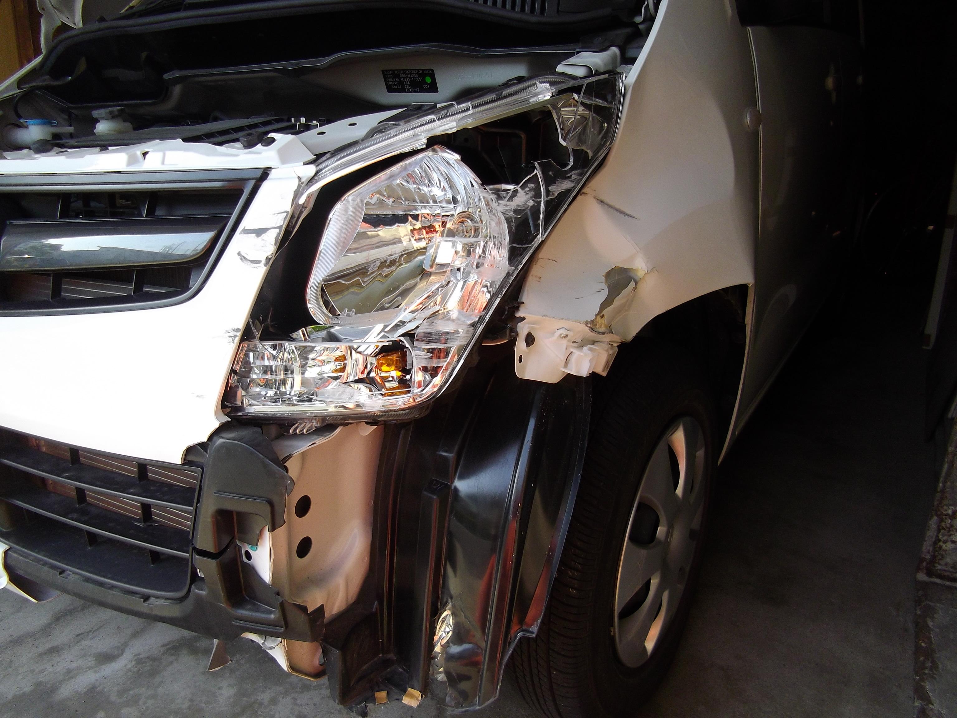 ワゴンR ・ 事故修理