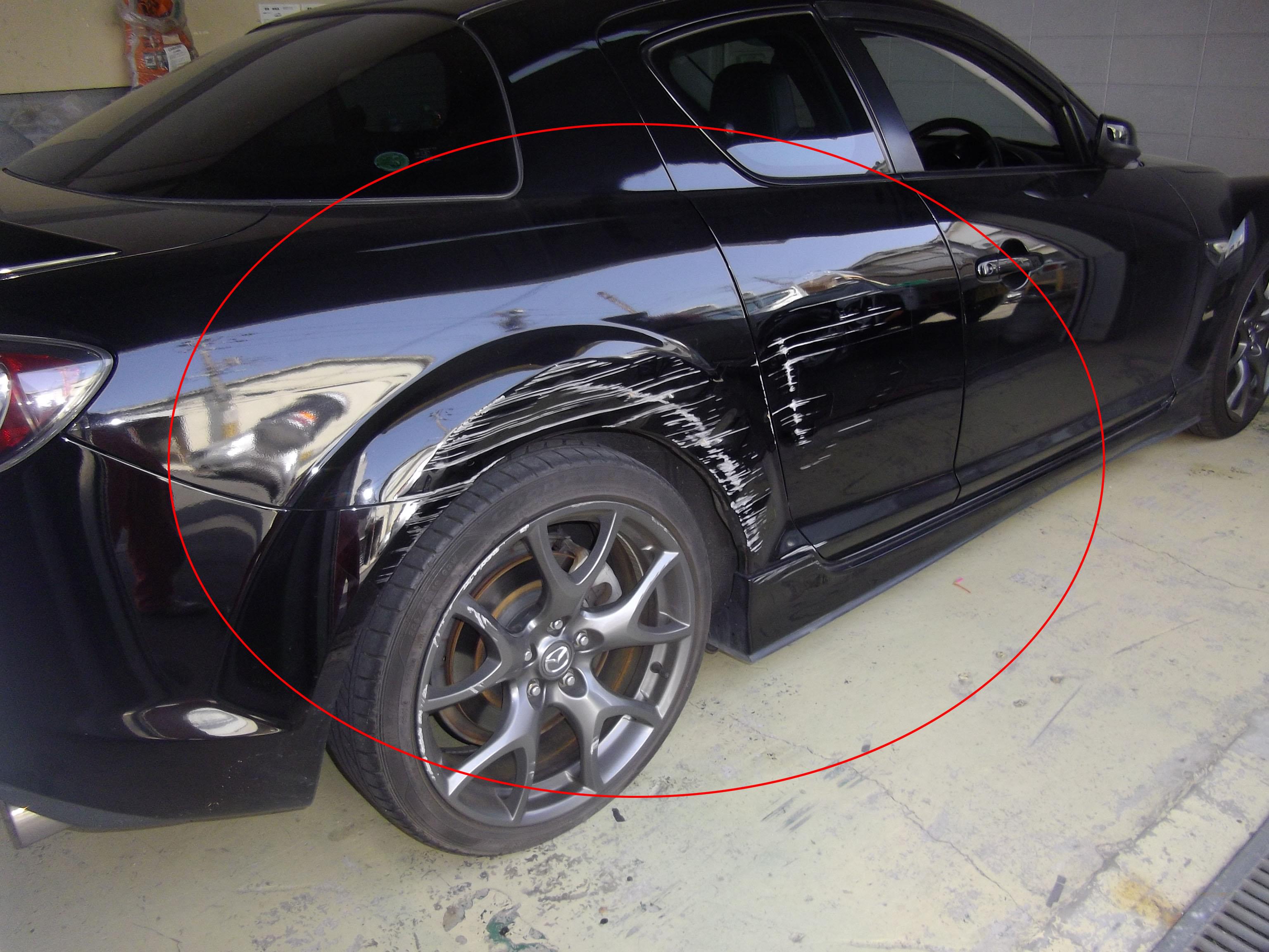 ・RX-8 事故修理