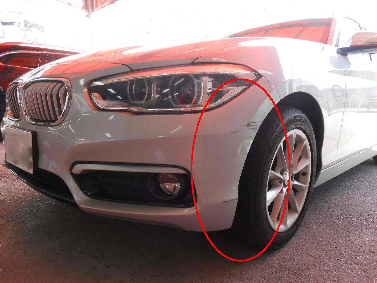 BMW1 F20 ・バンパー修理
